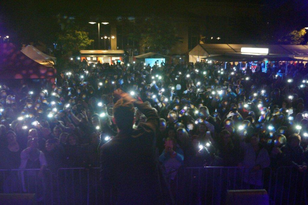 Insgesamt eine gute Stimmung herrschte bei der Rock-Pop-Schlagerparty Selm. Foto: Stadt Selm / M. Woesmann