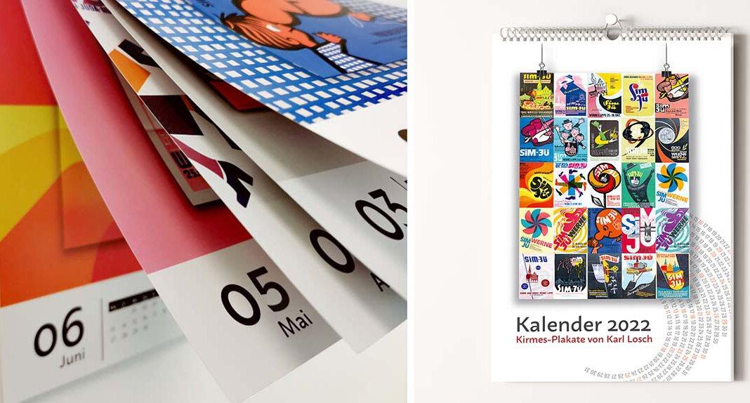 Der Wandkalender im DIN A4-Hochformat ist zum Preis von 7,50 Euro seit Freitag, 8. Oktober 2021, in der Tourist-Information erhältlich. Foto: Werne Marketing