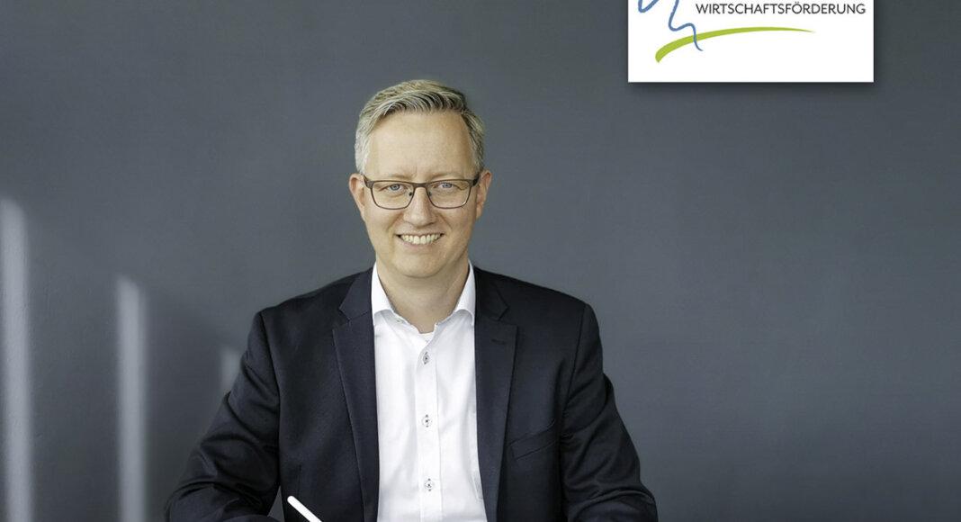 Wernes Wirtschaftsförderer Matthias Stiller will in den Wochen vor dem Bürgerentscheid über das geplante Gewerbe- und Industriegebiet informieren. Foto: WiFö Werne