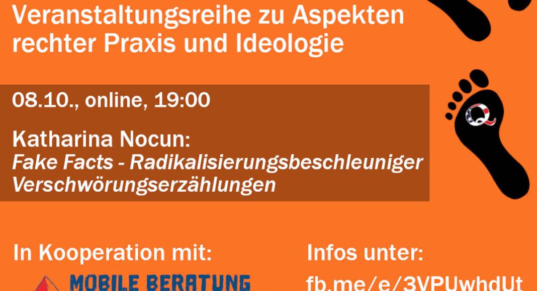 Die Themen der Veranstaltungen reichen demnach von rechten Parteien und der Bundestagswahl über Rechtsterrorismus bis hin zu den Querdenken-Protesten. Foto: WBgR